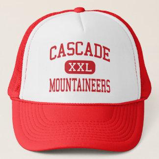 Kaskade - Bergsteiger - Mitte - Biegung Oregon Truckerkappe