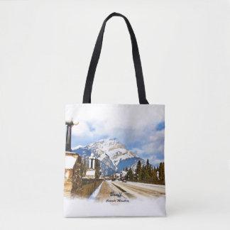Kaskaden-Berg - Banff Alberta Kanada Tasche