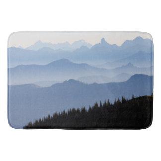 Kaskaden-Berge des Mount Rainier Nationalpark-| Badematte