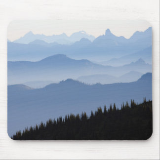 Kaskaden-Berge des Mount Rainier Nationalpark-| Mousepad