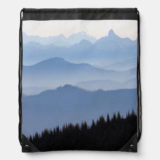 Kaskaden-Berge des Mount Rainier Nationalpark-  Sportbeutel