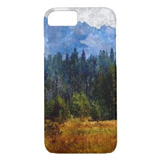 Kaskaden-Berge Wiese, Oregon iPhone 8/7 Hülle