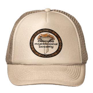 Kaskaden-mykologischer Gesellschafts-Logo-Hut Kultkappe