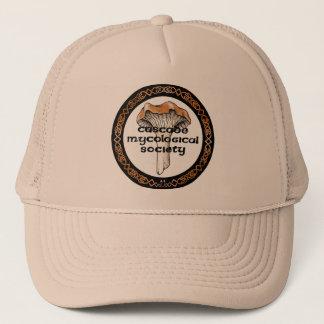 Kaskaden-mykologischer Gesellschafts-Logo-Hut Truckerkappe