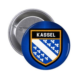 Kassel-Flagge Runder Button 5,7 Cm