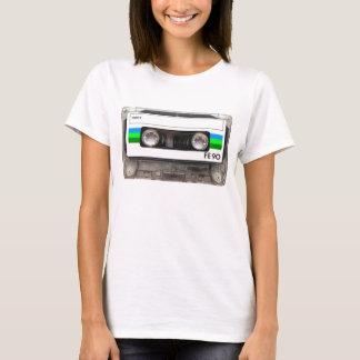 Kassetten-Band-Grün-T - Shirt