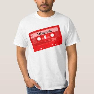 Kassetten-Band-Shirt der Mischungs-90s T-Shirt