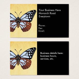 Kastanien-Tiger-Schmetterling Visitenkarte