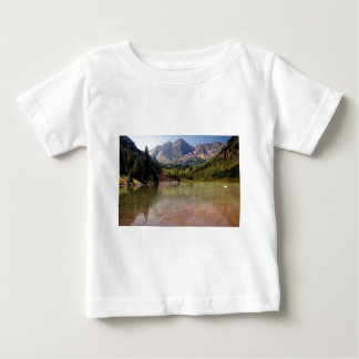 Kastanienbraune Bell Baby T-shirt