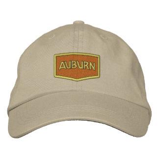 Kastanienbrauner Logo-Hut Baseballcap