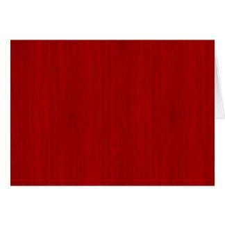 Kastanienbrauner roter hölzerner Korn-Bambusblick Karte
