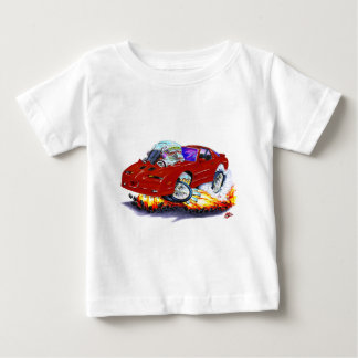 Kastanienbraunes Auto 1982-92 Transportes morgens Baby T-shirt