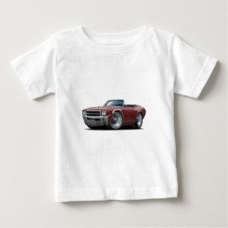 Kastanienbraunes Kabriolett 1969 Buicks GS Baby T-shirt