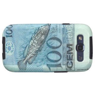 Kasten 100 Brasilianer Reais Banknoten-Samsung-Gal Etui Fürs Galaxy SIII