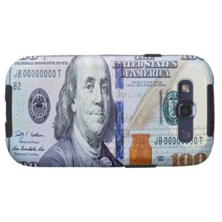 Kasten 100 Dollarscheins Samsung Galaxie-S Samsung Galaxy S3 Hüllen