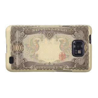 Kasten 10.000 japanische Yen-Banknoten-Samsung-Gal Samsung Galaxy SII Case