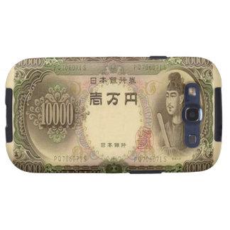 Kasten 10.000 japanische Yen-Banknoten-Samsung-Gal Galaxy S3 Hülle