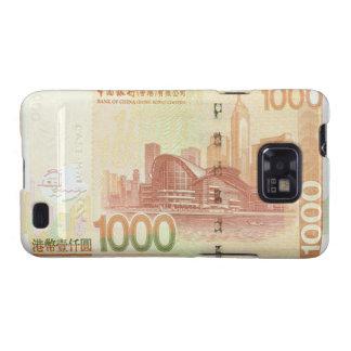 Kasten 1.000 Hong Kong Dollarscheins Samsung Galax Samsung Galaxy S2 Hüllen