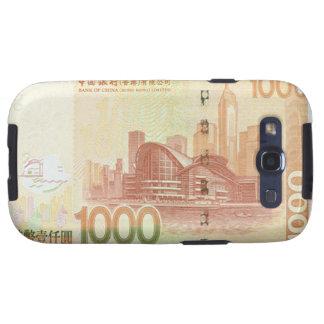 Kasten 1.000 Hong Kong Dollarscheins Samsung Galax Galaxy S3 Etui