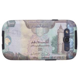 Kasten 1.000 UAE-Dirham-Banknoten-Samsung-Galaxie- Samsung Galaxy S3 Etui