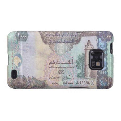 Kasten 1.000 UAE-Dirham-Banknoten-Samsung-Galaxie- Galaxy SII Hülle