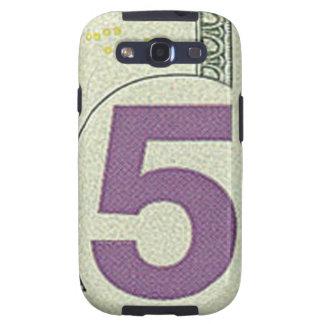 Kasten 5 Dollarscheins Samsung Galaxie-S Galaxy SIII Hüllen