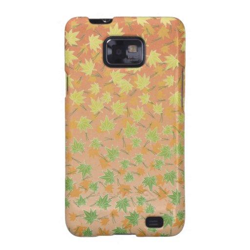 Kasten Ahornblatt-Muster-Samsung-Galaxie-S Samsung Galaxy S2 Cover