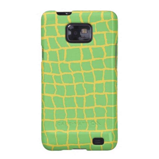 Kasten Alligatordruck-Samsung-Galaxie-S Samsung Galaxy SII Cover