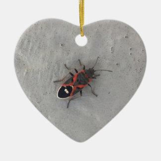 Kasten-Ältest-Käfer Keramik Herz-Ornament