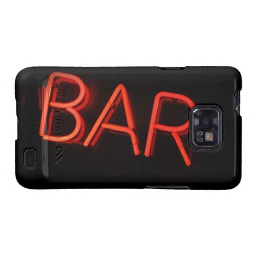 Kasten Bar-Samsungs-Galaxie-S Galaxy S2 Cover