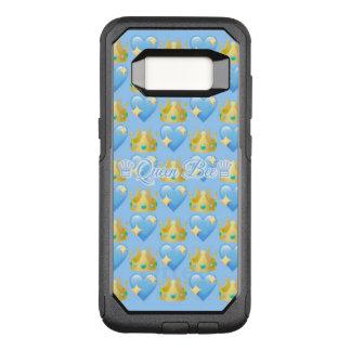 Kasten Bienenkönigin-(blauer) Samsung-Galaxie-S8 OtterBox Commuter Samsung Galaxy S8 Hülle