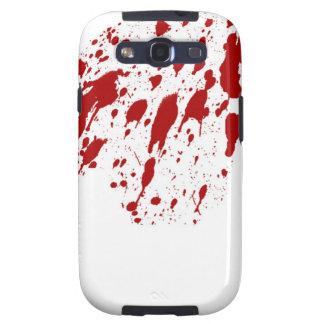 Kasten Blut-Spritzer-Samsungs-Galaxie-S Galaxy S3 Hülle