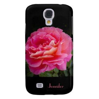Kasten der Galaxie-S4, eine perfekte rosa Rose Galaxy S4 Hülle