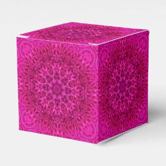 Kasten der rosa Blumen-klassischer Geschenkschachtel
