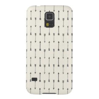 Kasten des Hipster-Pfeil-Muster-| Samsung der Galaxy S5 Hüllen