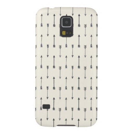 Kasten des Hipster-Pfeil-Muster-  Samsung der Samsung S5 Cover