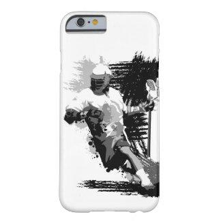 Kasten des Lacrosse-Spieler-I des Telefon-5 Barely There iPhone 6 Hülle