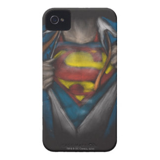 Kasten des Supermann-| decken Skizze Colorized auf iPhone 4 Etuis