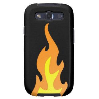 Kasten Flammen-Samsung-Galaxie-S Galaxy SIII Hülle