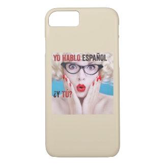 Kasten für Handy - yo hablo español iPhone 8/7 Hülle