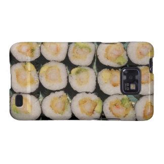 Kasten Garneletempura-Sushi-Samsung-Galaxie-S Galaxy S2 Hülle