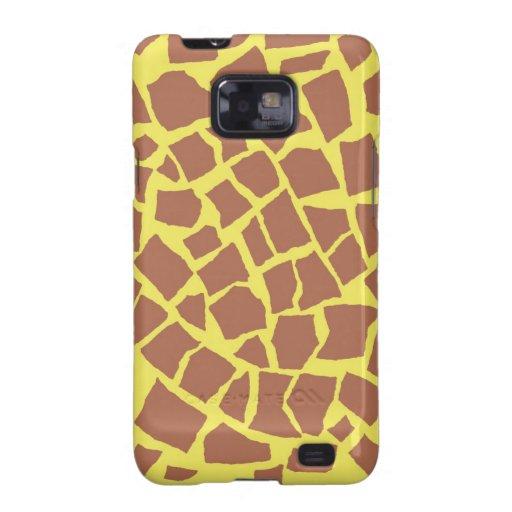 Kasten Giraffen-Druck-Samsung-Galaxie-S Galaxy S2 Hüllen