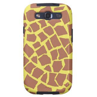 Kasten Giraffen-Druck-Samsung-Galaxie-S Samsung Galaxy S3 Hüllen