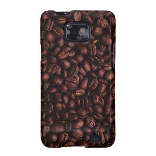 Kasten Kaffeebohne-Samsung-Galaxie-S Samsung Galaxy SII Hülle