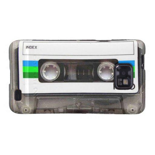 Kasten Kassetten-grüner Samsung-Galaxie-S Galaxy SII Cover