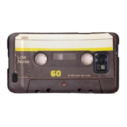Kasten Kassetten-schwarzer Samsung-Galaxie-S Galaxy S2 Case