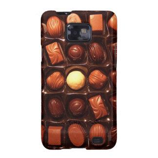 Kasten Kastens des Schokoladen-Samsung-Galaxie-S Galaxy SII Case