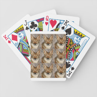 Kästen Kojoten Bicycle Spielkarten