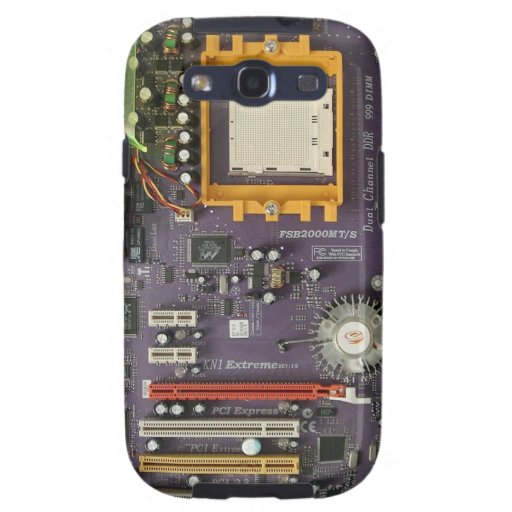 Kasten Motherboard-Samsung-Galaxie-S Galaxy S3 Hülle