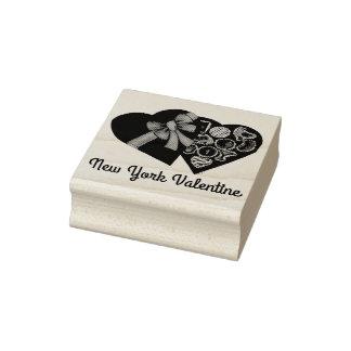 Kasten New Yorkvalentine-NYC der Gummistempel